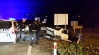 Sinop'ta Kaza Açıklaması 1 Yaralı