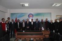 SERKAN BAYRAM - AK Parti'den Memur-Sen'e Ziyaret