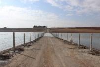 BARAJ GÖLETİ - Çamgazi Barajına Tel Örgülü Güvenlik