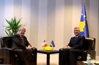 KOSOVA BAŞBAKAN YARDIMCISI - İtalya Dışişleri Bakanı Gentiloni Kosova'da