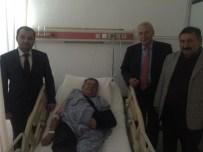 Meclis Merdivenlerinden Düşen Başkan Hastaneye Kaldırıldı
