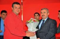 METİN ÖZKAN - Başkan Baran, Kocaelisporlu Futbolcularla Buluştu