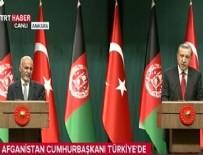 EŞREF GANI - Erdoğan ve Ahmedzai'den ortak açıklama