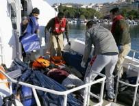 Dikili'de sığınmacıları taşıyan tekne battı
