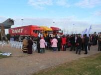 Ordu'dan Bayırbucak Türkmenlerine 3 Tır Yardım