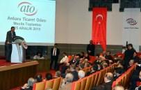 MELİH GÖKÇEK - Başkan Gökçek, Yanan Osmanlı Pazarı İçin ATO'da