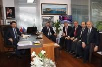 KOZCAĞıZ - Belediye Başkanları Milletvekili Tunç'u Ziyaret Etti