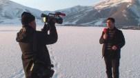 BENDİMAHİ ÇAYI - Sibirya Soğukları Göl, Baraj Ve Dereleri Dondurdu