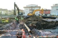 HANLı - Tramvay Güzergâhında Altyapı Çalışmaları Sürüyor