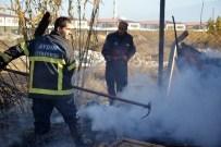 DENIZ YıLDıRıM - Aydın'da Soba Külü 35 Bin TL'yi Kül Etti
