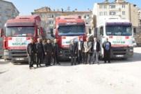 OSMAN ACAR - Niğde'den Türkmenlere 20 Tır Yardım Yola Çıktı