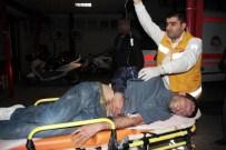 KÜÇÜKDIKILI - Polis, Kendilerine Ateş Eden Teröristi Hastaneye Kaldırdı... İşte Vurulma Anı