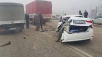 KAZıM KARABULUT - Düzce'de Sis Kazayı Beraberinde Getirdi