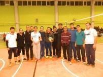 KıZıLCAÖREN - Beylikova'da Voleybol Turnuvası Başladı