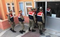 HALFELI - Şafak Operasyonunda 5 Tutuklama