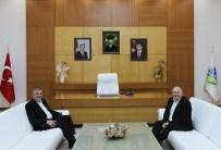 ORHAN ÖZER - Toyota Genel Müdürü Özer'den Toçoğlu'na Veda Ziyareti