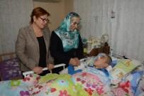 ENGELLİ İSTİHDAMI - AK Parti'den Engellilere Ziyaret