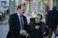 MUHAMMET ESAT EYVAZ - Alaca Engelliler Derneği'nden Başkan Eyvaz'a Ziyaret