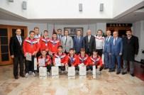 Başkan Tiryaki Sessiz Şampiyonları Ağırladı