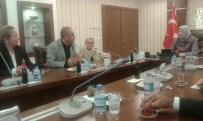 TÜRKİYE SAKATLAR KONFEDERASYONU - Engelliler Federasyonu Yöneticileri Kahraman Ve Ramazanoğlu İle Görüştü