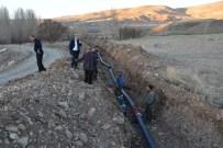 Tercan'da Yeni İçme Suyu Hattı Çalışmaları Başladı