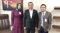 ÖĞRETMENLER GÜNÜ - Viranşehir De Yılın Öğretmeni,Kaymakam Citer'i Ziyaret Etti