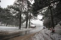 GÜLSÜM ANA - Edremit Ve Havran'da Kar Yağışı Başladı