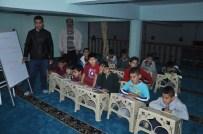 MATEMATİK DERSİ - Öğrenciler Camide İngilizce Ve Matematik Öğreniyor