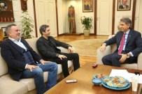 KURTLAR VADISI - Kurtlar Vadisi Dizisinin Başrol Oyuncusu Şaşmaz'dan, Başkan Mustafa Demir'e Ziyaret