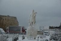 Sinop'ta Kar Yolları Kapattı