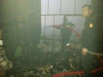 KıLıLı - Türkoğlu'da Tekstil Fabrikasında Yangın