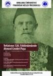 Ahmed Cevdet Paşa Ölümünün 120. Yılında Kırklareli'nde Anılacak