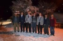 ALI POLAT - Gürün Kaymakamı Özdemir, Köy Ziyaretinde Bulundu