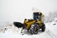 Trabzon'da Karla Mücadele Çalışmaları Yoğun Şekilde Devam Ediyor
