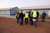 DAVUTLAR - Başkan Şirin, Atık Su Arıtma Tesisi İnşaat Çalışmalarını İnceledi