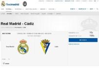 CADIZ - Real Madrid'de Bir Skandal Daha !