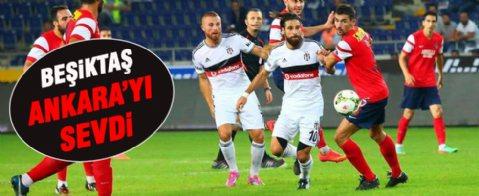Beşiktaş: 2 Mersin İdmanyurdu: 1