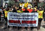 4+4+4 SİSTEMİ - Aydın'da 'eğitim'Eylemi