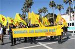 4+4+4 SİSTEMİ - Marmaris'te 'eğitim'Eylemi