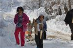 Kar Yağışı Karaman'ın Yüksek Kesimlerinde Etkilili Oluyor