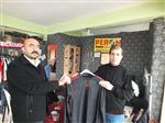 HAMZA KAYA - Peron Spor Mağazasından Petrolspor'a Destek
