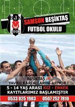 ÖZSAYGı - Samsun'da Beşiktaş Futbol Okulu Açılıyor