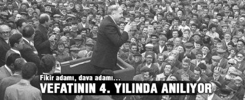 Necmettin Erbakan'ın  Ölümünün 4. Yılı