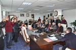 NECATI AKPıNAR - İzmir Eğit-der ve Add'den Başkan Saka'ya Ziyaret