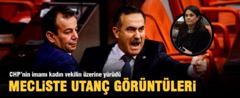Meclis'te Babuşçu'nun Twitter mesajı gerginliği
