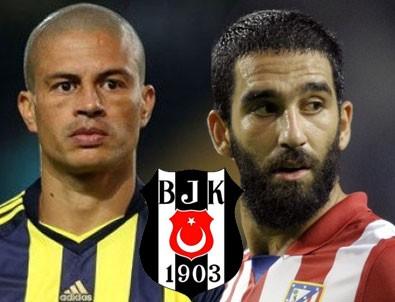 Alex ve Arda'dan Beşiktaş'a tebrik mesajı