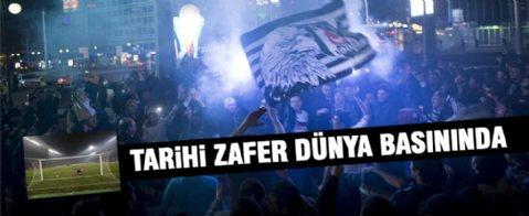 Beşiktaş'ın Liverpool'u elemesi dünya basınında