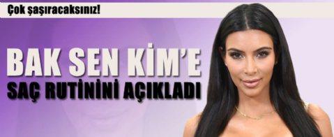 Kim Kardashian: 'Saçlarımı 5 günde bir yıkıyorum'