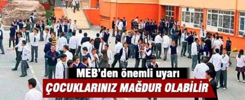 MEB'den velilere 'Temel Lise' uyarısı
