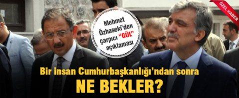 Mehmet Özhaseki'den çarpıcı Gül açıklaması